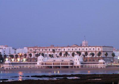 Anochecer en la playa de la Caleta de Cádiz - David Ibañez Montañez