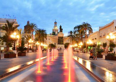 Plaza de San Juan de Dios de Cádiz - David Ibañez Montañez