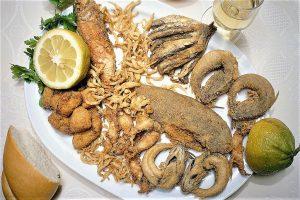 Gastronomía Cádiz pescaito frito