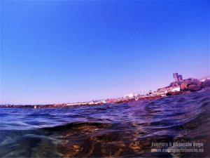Castillo de Santa Catalina, playa chica, Tarifa, Cádiz