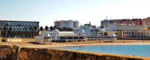playa de la Caleta, Cádiz, turismo