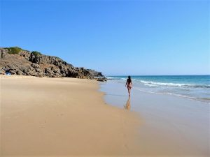 playa del Cañuelo, Cádiz, turismo, playa