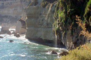 playa de los Chorros, Barbate, acantilado, turismo, cascada, playa