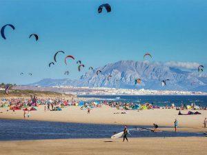 Playa Valdevaqueros Tarifa Cádiz Turismo Playas deportes acuáticos