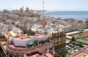Vistas de Cádiz desde el Mirador de la Torre Tavira