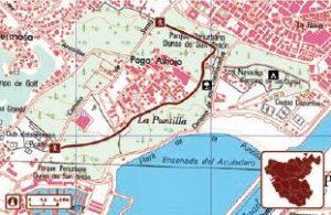 Ruta Senderos Dunas de San Antón Cádiz