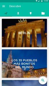 Apps turísticas viaje