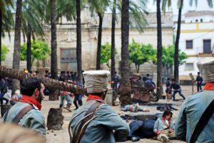 Rodaje El Libertador FOTO: La Voz Digital Cádiz