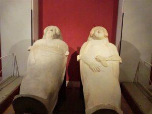 Sarcófagos Antropomorfos del Museo de Cádiz