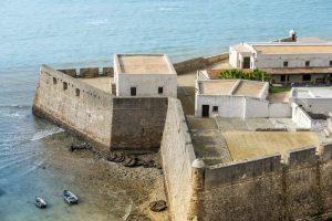 Castillo de Santa Catalina. FOTO Ayuntamiento de Cádiz