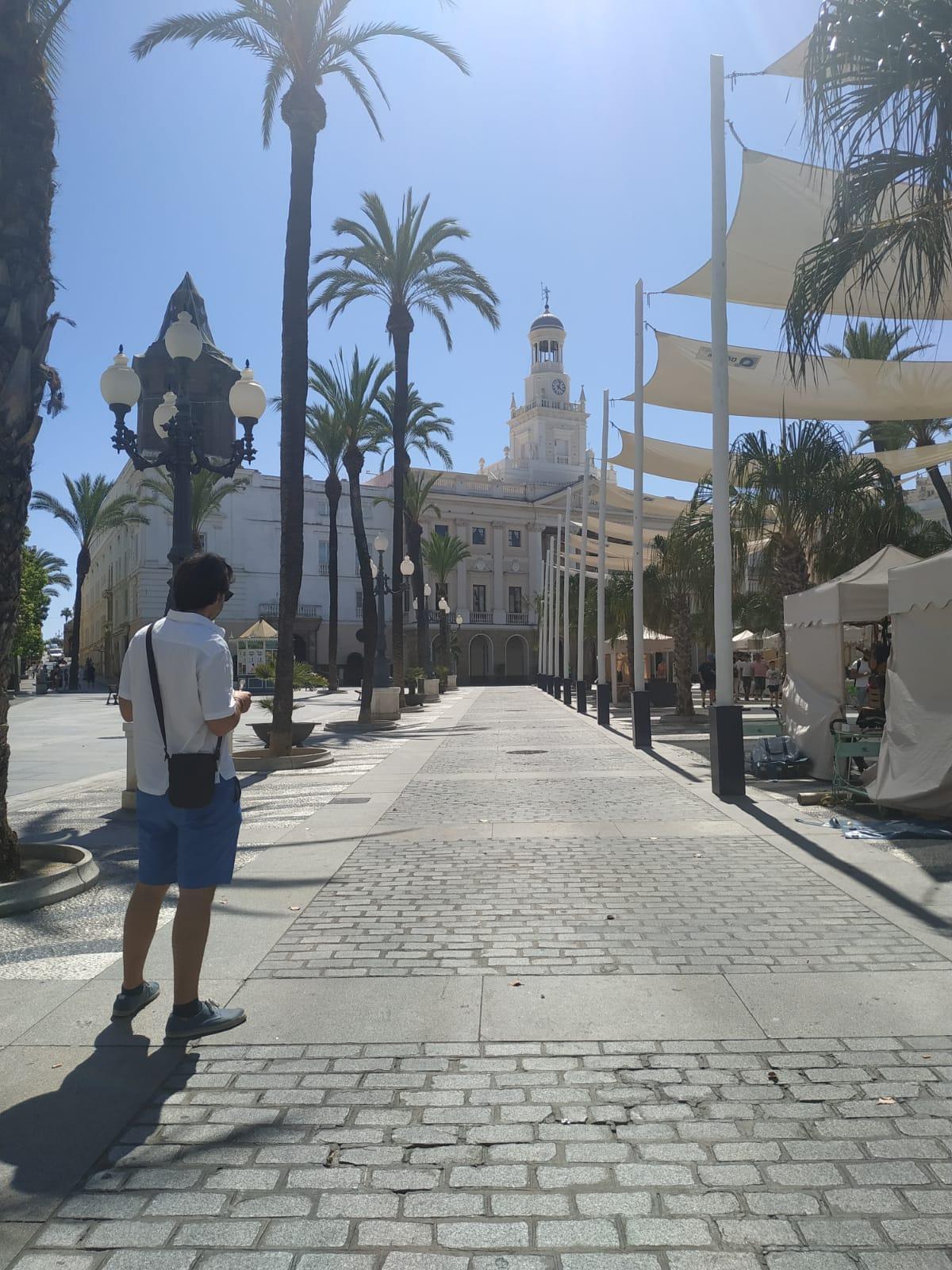 Plaza de San Juan de Dios Cádiz