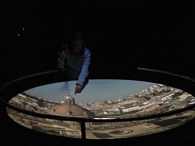 Vista de la Cámara Oscura del Alcázar de Jerez FOTO cadizturismo