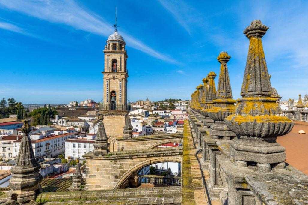 Vistas de la Torre Campanario de la Catedral de Jerez. FOTO Catedraldejerez.es